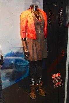 Elizabeth Olsen Scarlet Witch costume Avengers: Age of Ultron