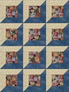 Risultato immagine per 12 Simple Quilt Block Patterns