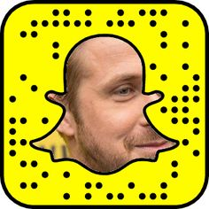 Ryan Gosling's Snapchat Code #snapchat #snapcode