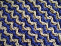 Interlocking Crochet™ - Front Post Stitch (FPdcif) & Back Post Stitch (BPdcib) - YouTube
