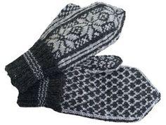 Neulo upeat Mikkelin lapaset | ET Knit Mittens, Knitting Socks, Knit Socks, Handicraft, Gloves, Diy, Fashion, Knitting, Dots
