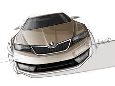 Car Design Resources, News and Tutorials Render Design, Automobile Industry, Car Sketch, Transportation Design, Sketch Design, Automotive Design, Cool Cars, Sketches, Exterior Design