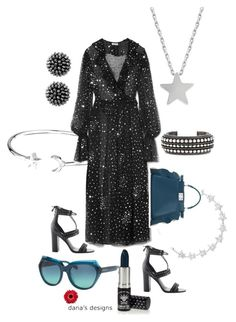 """DDKJQ_E-the-real"" by aka85 on Polyvore featuring Alex and Ani, Ashish, Kendall + Kylie, Studio Silver, Coach, Fendi, Manic Panic NYC and Yves Saint Laurent"