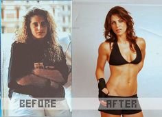 Jillian's before and after.