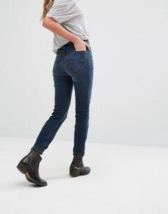 Lee Scarlett High Waist Skinny Jeans - Blue