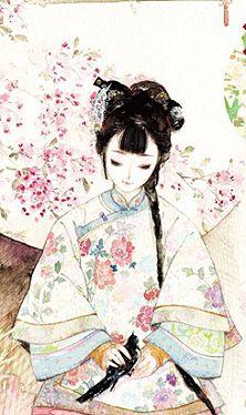 Chinese old way cloth Manga Art, Anime Art, Oriental, Geisha, L5r, Epic Art, China Art, Creative Pictures, Human Art