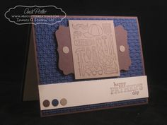 Stampin Up Father's Day Card