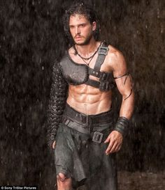 Up Pompeii: Kit Harrington shows off his fantastic six pack for his role as a slave in the historical love story Best Tv, Kit Harington Pompeii, Kit Harrington, Living In Europe, No Time For Me, Game Of Thrones, Sexy Men, Jon Snow, Movies