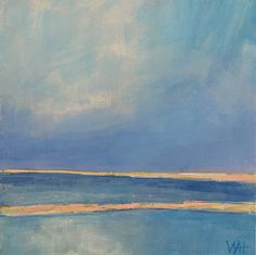 """Only Light"" - Whitney Heavey Daily Painters, Ocean, Fine Art, Day, Artist, Painting, Inspiration, Biblical Inspiration, Artists"