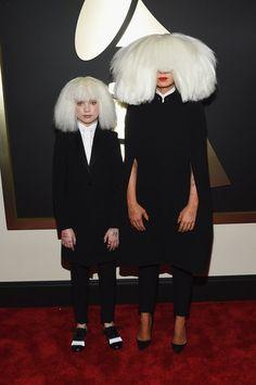 Pin for Later: Pour Voir Toutes Les Photos du Tapis Rouge des Grammy Awards, C'est Par Ici! Sia et Maddie Ziegler