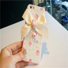 Girly Bow Floral Pattern Iphone 6 plus /6s plus Case
