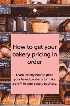 Learn to price your products in a baking business. We use this method for all our pricing. #pricing #bakerybusiness #bakingbusiness Home Bakery Business, Baking Business, Cake Business, Business Ideas, Salted Caramel Fudge, Salted Caramels, Online Bakery, Small Bakery, Christmas Baking