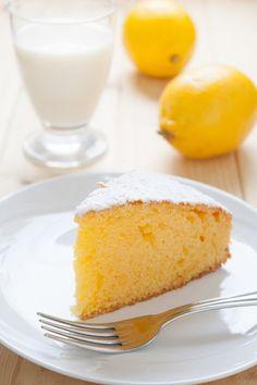 Cake au citron aérien