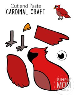 Animal Crafts For Kids, Winter Crafts For Kids, Easy Crafts For Kids, Preschool Colors, Preschool Crafts, Eagle Craft, Printable Crafts, Printables, Creative Thinking Skills
