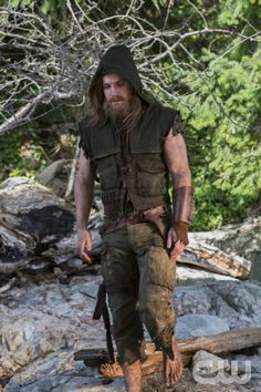 "Arrow -- ""Pilot"" Pictured: Stephen Amell as Oliver Queen -- Photo: Jack Rowand/The CW ©2012 The CW Network. All Rights Reserved."