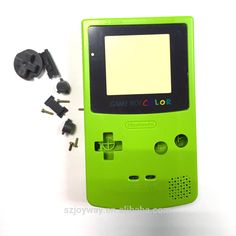 For Nintendo handheld console Gameboy color GBC shell green #Gameboy, #color