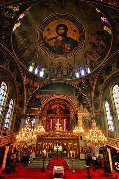 St. Spyridon Greek Orthodox Church, Washington Heights. Beautiful!