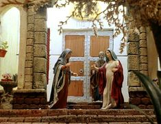 álbumes de fotos Christmas Carol, Nativity, Miniatures, Angel, Album, Jerusalem, Portal, Painting, Art