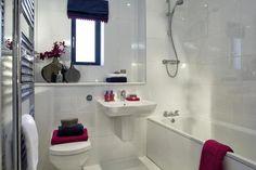 BATHROOM IDEAS - A Typical Taylor Wimpey Showhouse Bathroom