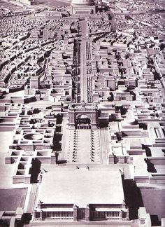 Nazi plans for Berlin... doesn't get darker than that.