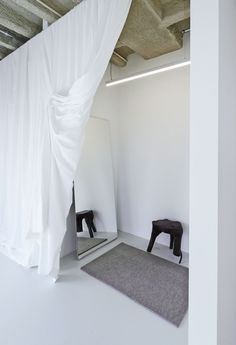 nothing better than a good dressing room ODEEH Concept Store by Zeller and Moye