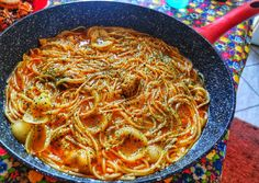 Wok, Japchae, Paella, Curry, Food And Drink, Cooking Recipes, Ethnic Recipes, Cook Books, Foods