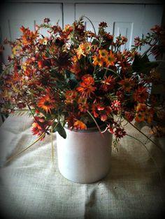 Wild Autumn Flower Spray