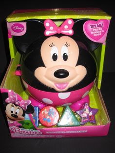 New Disney Minnie Mouse Bow tique Talking Shape Sorter Baby Toddler Toy | eBay