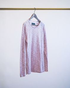 A light pink sweater with melange pattern by Jack & Jones Premium! Available in different colors at Swedala Outlet