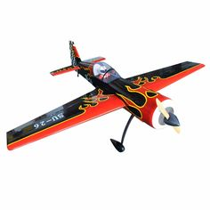 """(665.00$)  Know more - http://aiuic.worlditems.win/all/product.php?id=32722891507 - """"US Stock plane SU-26 88.9"""""""" 50cc Gas Scale Balsa Wood ARF RC Model Airplane"""""""