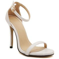 Sexy Simple Women's Sandals With Stiletto Heel and Solid Color Design