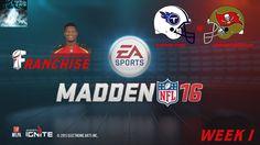 """Let's Play Madden NFL 16 """"Week 1 - Gegen die Titanen"""" [XBOX One,Deutsch,..."""