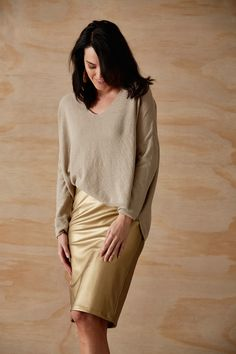 Eb & Ive - Orelle Lurex Knit In 2 Colours