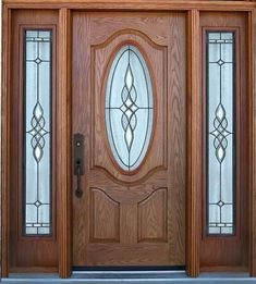 Are you looking for the best wooden doors for your home that suits perfectly? Then come and see our new content Wooden Main Door Design Ideas. Wooden Glass Door, Wooden Main Door Design, Double Door Design, Wooden Front Doors, Front Door Design, The Doors, Panel Doors, Entry Door With Sidelights, Main Entrance Door