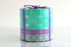 Cute Thick Hearts Washi Japanese Tape V2 - Japanese Washi Tape