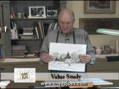 ▶ Value Study : Cheap Joe's Watercolor Training - Part 1 - YouTube