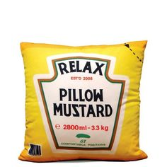 Almofada Relax Mustard