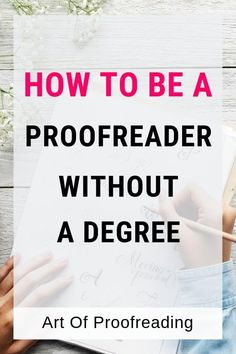 You don't need a degree to be a proofreader or copy editor. Find out what you really need so you can make money working online. Make Money Fast, Make Money Blogging, Make Money From Home, Make Money Online, Copy Editing, Proofreader, Work From Home Tips, Knife Making, Online Work