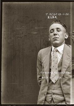 photo police sydney australie mugshot 1920 40 Portraits de criminels australiens dans les années 1920  photo photographie histoire featured art