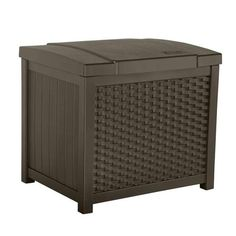 Suncast 22 Gallon Wicker Deck Box / SSW900, #Suncast, #SSW900