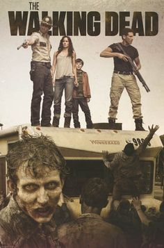 "A fantastic cast poster from TV's The Walking Dead! This item puts the ""win"" in Winnebago :) Fully licensed. Ships fast. 24x36 inches. Check out the rest of our great selection of Walking Dead posters"