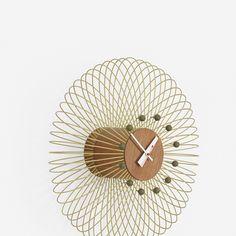 George Nelson & Associates / rare Birdcage wall clock, 1961