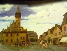 Liberec stará radnice Berg, Homeland, Alter, Taj Mahal, Building, Painting, Travel, Viajes, Buildings
