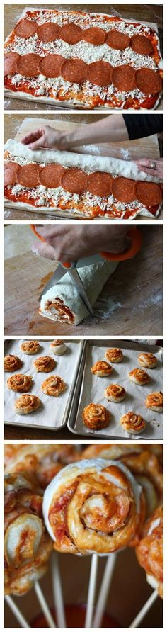 Pizza on a Stick | Food Blog