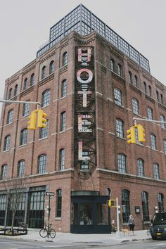 A local's travel guide to Williamsburg in New York City: where to eat, shop, stay, and play. Hotel A New York, New York Hotels, Brooklyn Hotels, Brooklyn New York, Wythe Hotel Brooklyn, Williamsburg Brooklyn, Williamsburg Hotel, Voyage New York, New York City Travel