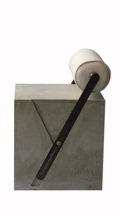 Fauteuil Cube Y - Concrete by LCDA