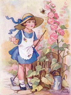 Garden girl.