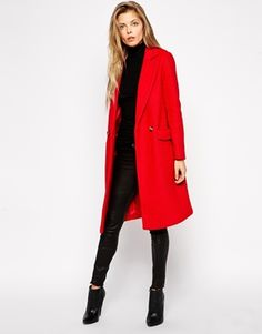 red coat #currentlyobsessed