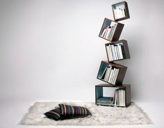 If you don't read books and don't care about the bookshelves don't be too quick to close this article. Just think about it. What impression does a room full of books make? That's right! It will immediately make you look smarter! And where do you put books? Exactly, bookshelf! That's why we made this list of the most creative designs out there. Which one would you put at your house?