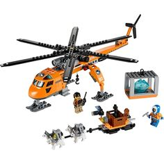 """HOT PRICES FROM ALI - Buy """"Bela 10439 City Series Arctic Helicrane Model building kits compatible with lego city blocks Educational toys hobbies"""" for only USD. Model Building Kits, Building Blocks Toys, Lego City Police, Buy Lego, Shop Lego, Lego Toys, Lego Friends, Kids Store, Learning Toys"""